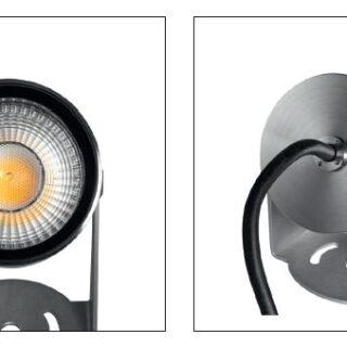 reflektor ze stali nierdzewnej na stopce